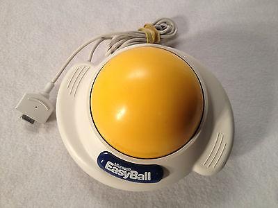 microsoft-easyball-trackball-mouse-easy-ball-1995-vintage-kids-serial-port-works_171824237875
